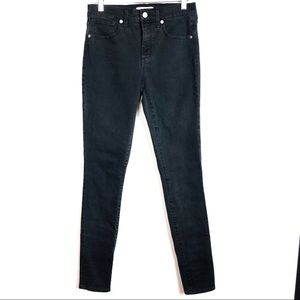 Madewell Tall High Riser Skinny Jeans Lunar Wash